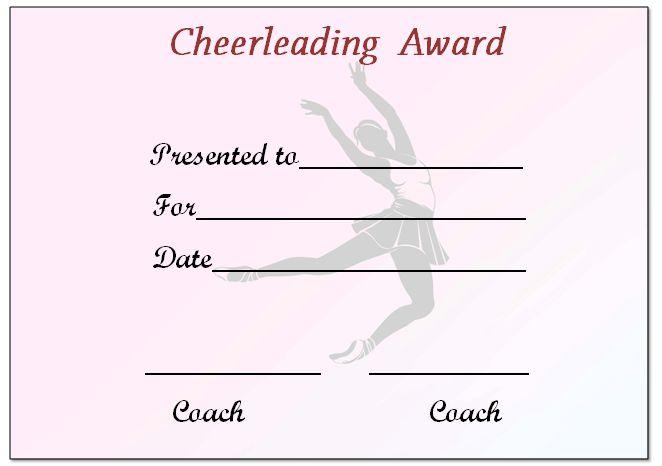 Online Cheerleading Certificate