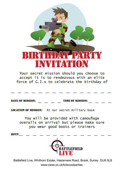 surpise birthday invitation template free