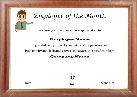 employee_of_the_month_photo_frame_template