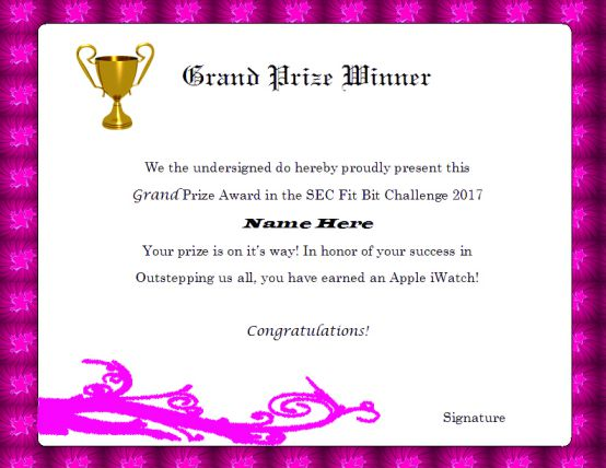 Winner certificate template 40 word templates for competitions grandprizewinnercertifcatetemplate yelopaper Gallery