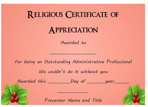 50 professional free certificate of appreciation templates for every need demplates