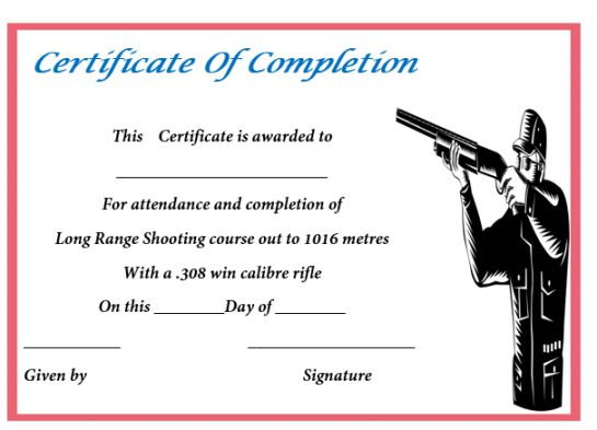 shooting_completion_certificate