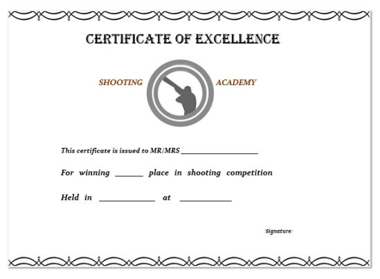 shooting_dog_certificate
