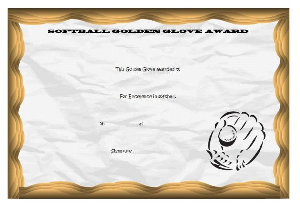 softball_golden glove_certificate