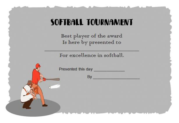 softball_tounament _certificate