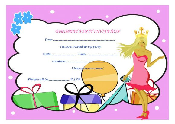 Princess_Birthday_invitation_certificate_3