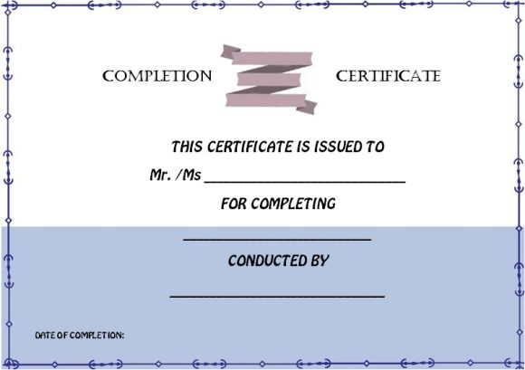 avery_certificate_of_completion_template