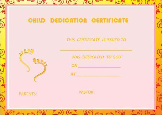 baby dedication invitation template 1