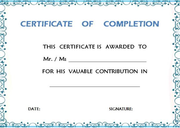 certificate_of_completion_of_project