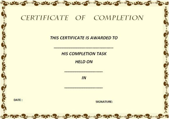 certificate_of_completion_template_gold