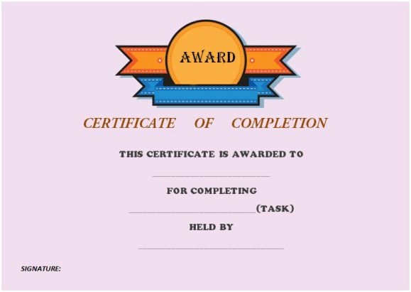 certificate_of_completion_template_no_border