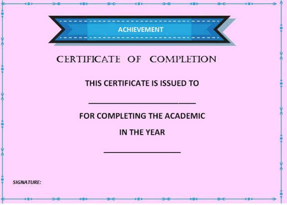 certificate_of_completion_template_purple
