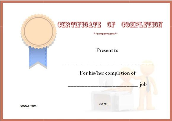 certificate_of_job_completion_template