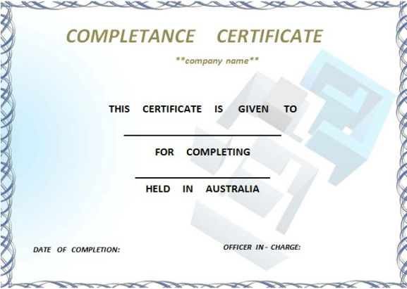 certificate_of_practical_completion_template_australia
