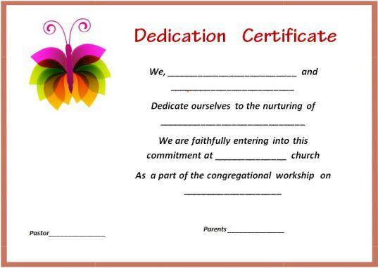 christening certificate template 1