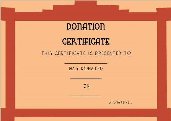 22 legitimate donation certificate templates for your next campaign 22 legitimate donation certificate templates for your next campaign demplates yadclub Gallery