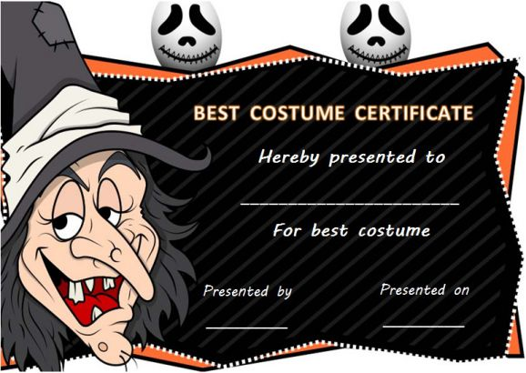Halloween Costume Contest Awards Meningrey