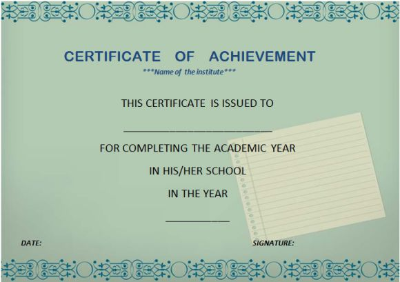 high_school_certificate_of_completion_template