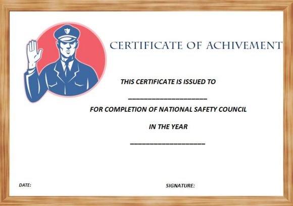 national_safety_council_certificate_of_completion_template