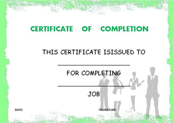 on_the_job_training_certificate_of_completion_template