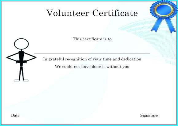 Volunteer certificate templates for word idealstalist volunteer certificate templates for word congratulations certificate template yelopaper Images
