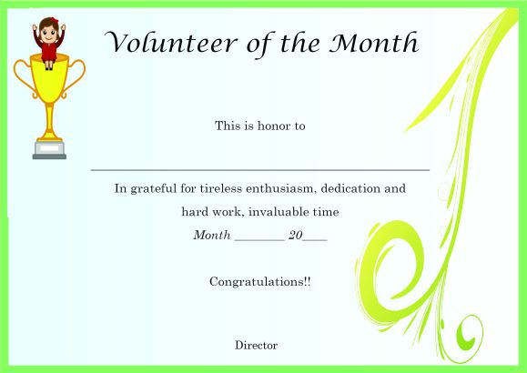 Download Volunteer Certificates The Right Way 19 Free Word Templates
