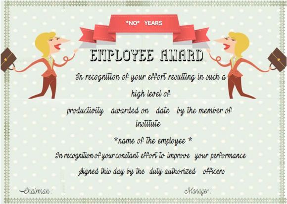Employee anniversary certificate template 12 professional word categories of employee anniversary certificates yadclub Gallery