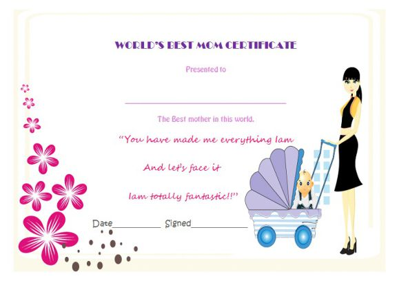 best mother certificate template images certificate
