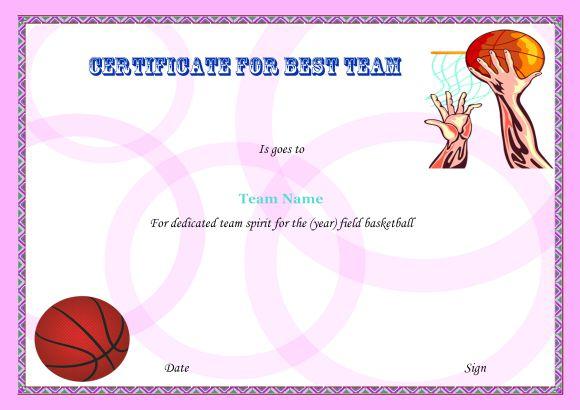 Basketball Camp Best Team 2