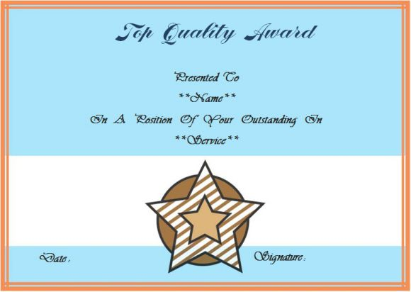 25 years of service certificate template