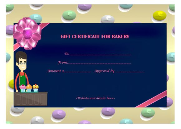 Bakery gift certificate