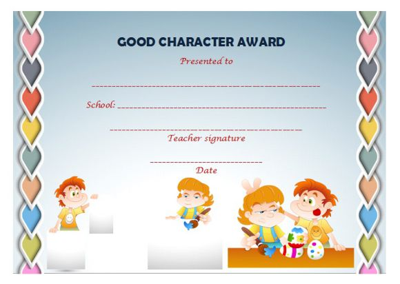 Pre k award certificate templates 15 free printable for Pre k award certificate templates