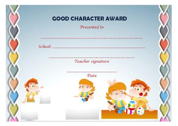Pre-k Award Certificate Templates : 15+ Free Printable Certificates ...