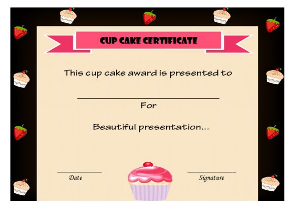 14 cake competition certificates for bake off cake decorating wordings for a bake off winner certificate yelopaper Image collections
