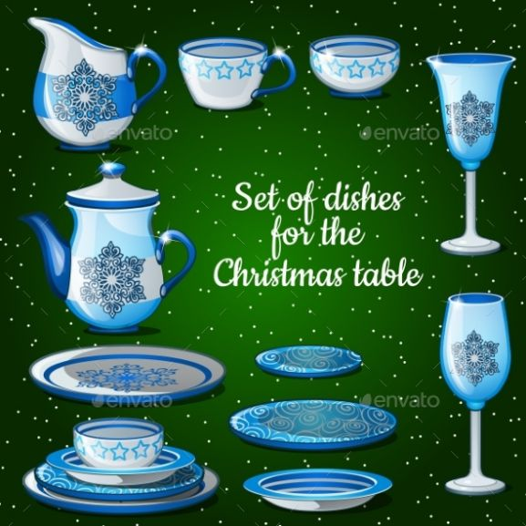 Festival Table Setting Dishes