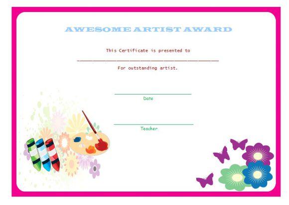Pre_k_artist award