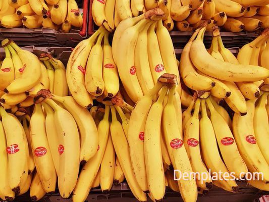 Banana - - Things that are yellow