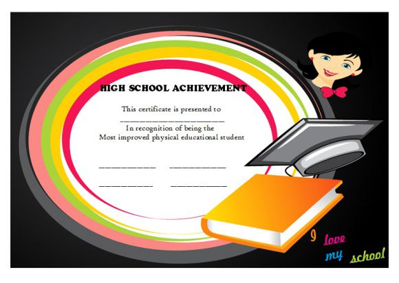 Certificate of High school Achievement