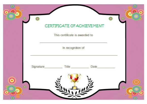 Certificate of achievement template 32 word templates skillful certificate of achievement template 32 word templates skillful designs demplates yelopaper Choice Image