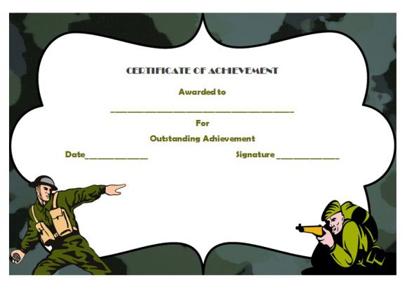 Certificate of Army Achievement