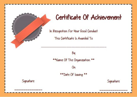 Nice good conduct certificate template photos certificate good good conduct certificate template 22 word templates for employees yelopaper Gallery