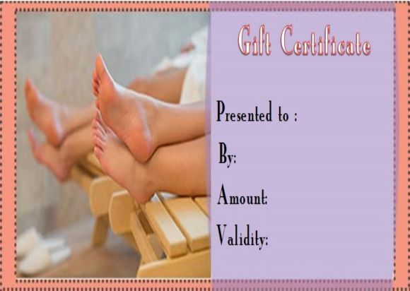 Spa Gift Certificate Template 27 Word Psd Templates Amazing