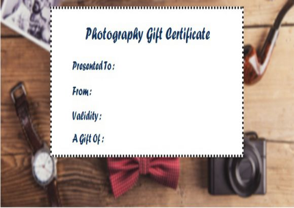 Photography gift certificates templates free roho4senses photography gift certificates templates free yadclub Choice Image