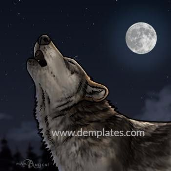 how to draw a wolf howling - 10_2