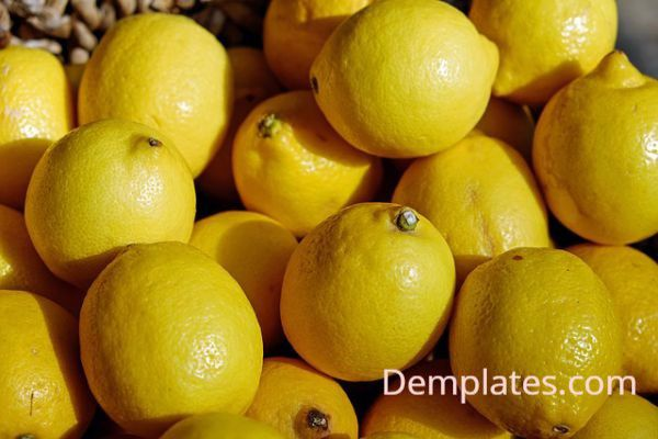 Lemon - Things that are yellow