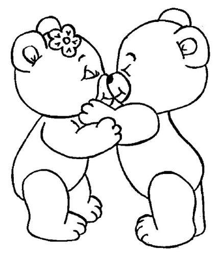 Love Bear Drawing