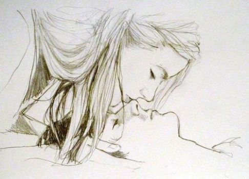 Love Drawing By Pencil