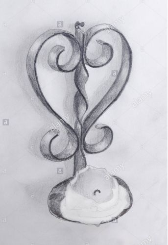 Love Drawing Candle Prayer