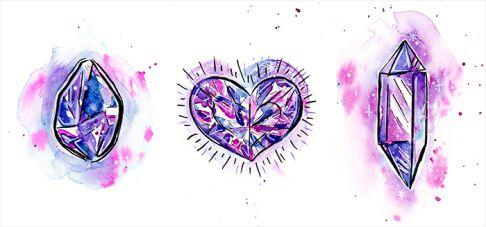 Love Drawing Crystals