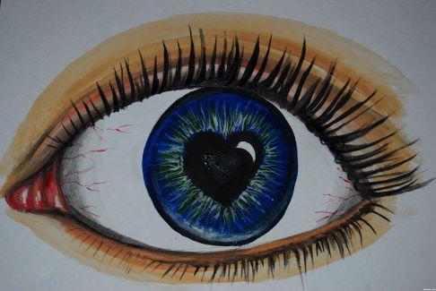 Love Drawing Eyes